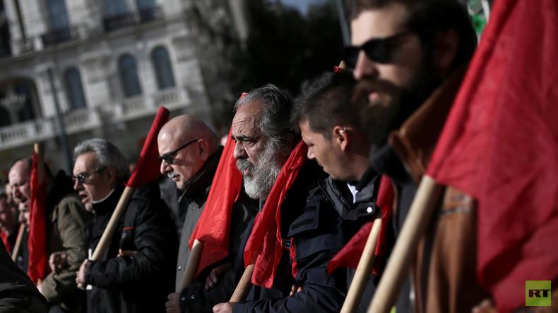 Generalstreik: Griechische Arbeiter wehren sich gegen Sparkurs der Tsipras-Regierung