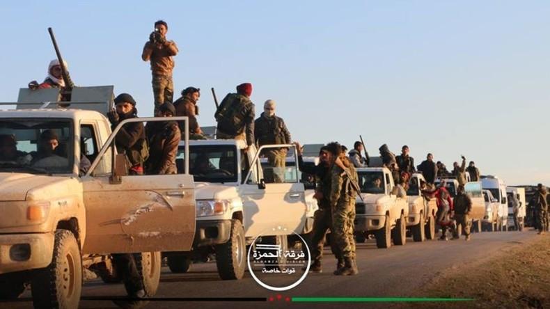 Türkei und FSA rücken in Nordsyrien vor - Es drohen Zusammenstöße mit US-unterstützten Milizen