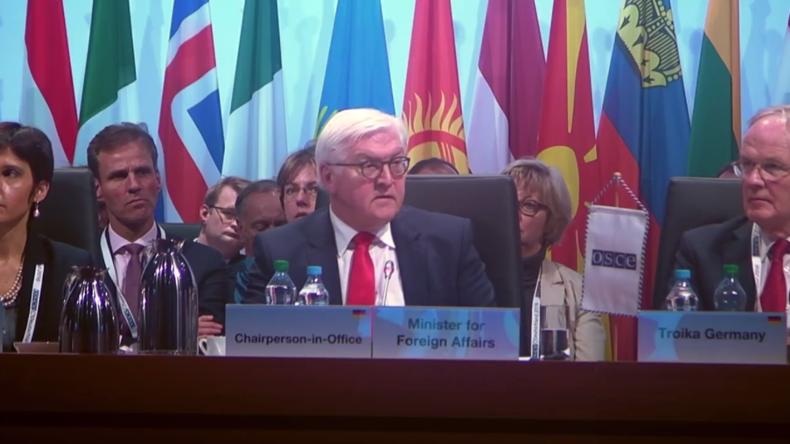 Live: Außenminister Kurz und Steinmeier geben gemeinsame Pressekonferenz beim OSZE-Gipfel
