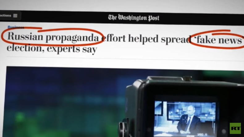"Washington Post gibt zu: Artikel über ""russische Fake News"" war selber Fake News"