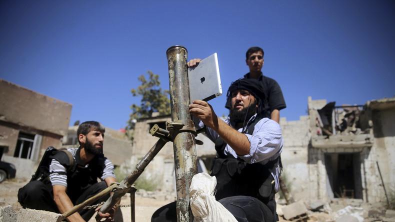 Washington setzt auf Eskalation: USA heben Waffenexport-Verbot für Rebellen in Syrien auf