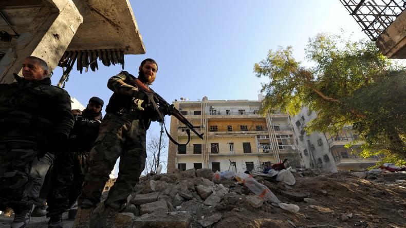 """""""Russland ist schuld"""": Mainstreammedien verweigern Realität in Aleppo"""