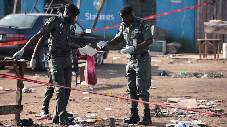 Zwei Bombenexplosionen in Nigeria reißen 56 Menschen in den Tod