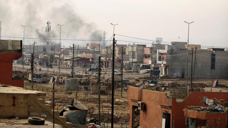 Mossul: Fast 90 irakische Soldaten sterben durch US-Luftangriff