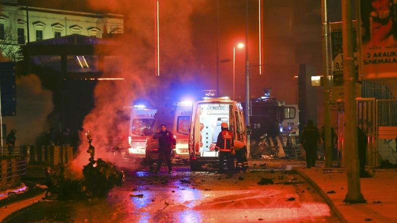 Doppelanschlag in Istanbul reißt 38 Menschen in den Tod