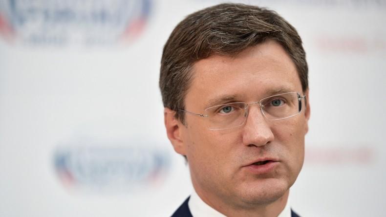 """Russlands Energie-Minister: """"Die Vereinbarung zur Deckelung der Ölproduktion ist freiwillig"""""""