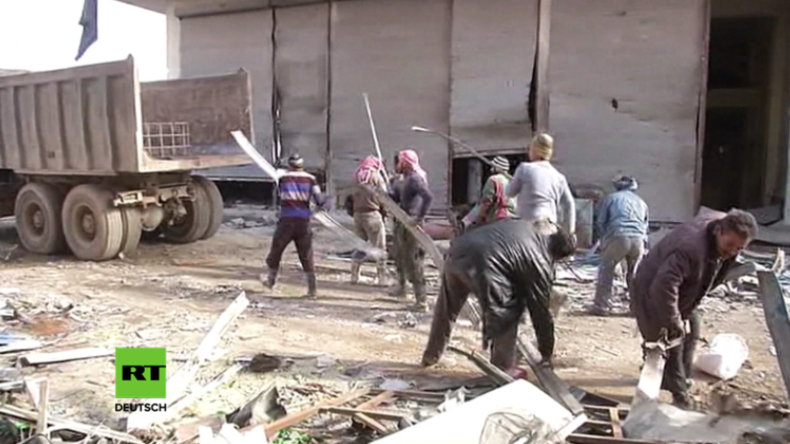 Aleppo: Wiederaufbau hat begonnen, während Armee weitere besetzte Gebiete befreit