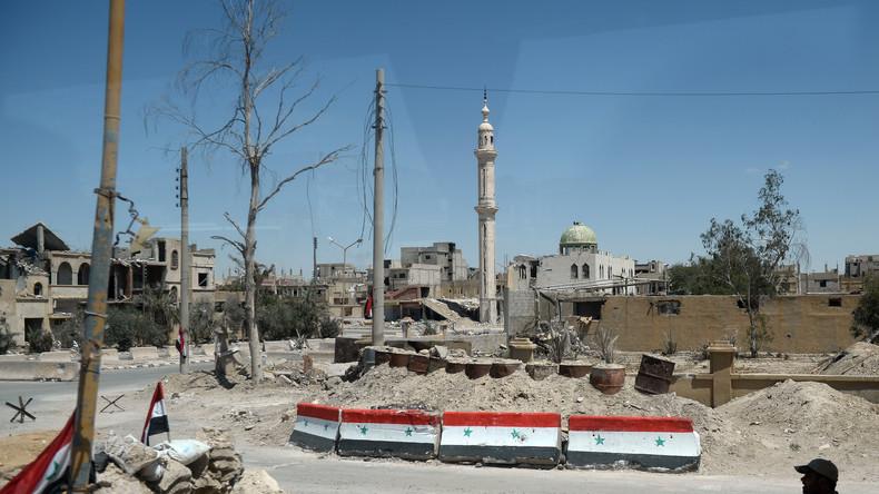 """Russisches Versöhnungszentrum: """"IS sammelte 4.000 Kämpfer für neuen Ansturm auf Palmyra"""""""