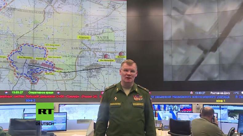 Russland zu westlichen Vertretern: Es wäre an der Zeit, Ihre zugesagte Hilfe für Aleppo zu senden