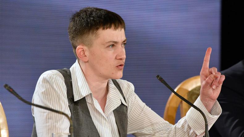 Sawtschenko: Chefs der VR Donezk und Lugansk in Oberster Rada nicht willkommen