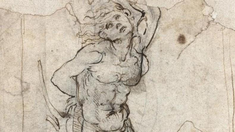 Da Vinci Zeichnung im Wert von 15 Millionen Euro entdeckt