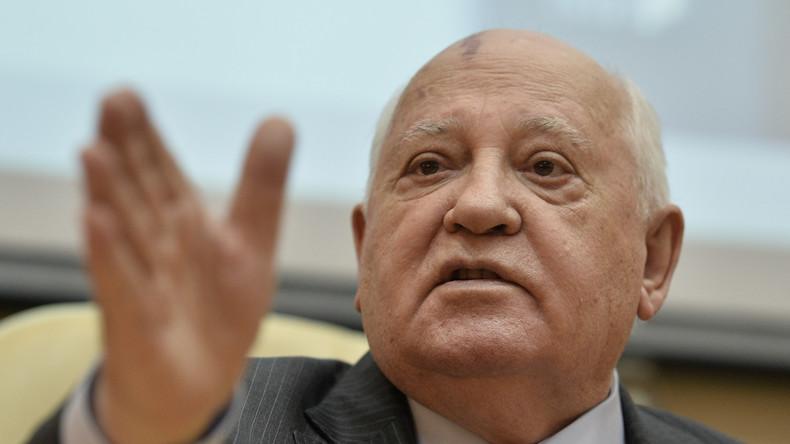 """Ex-Präsident der Sowjetunion Gorbatschow: """"Möglich ist eine andere Union in den früheren Grenzen"""""""