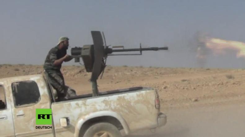 Der Kampf um die antike Stadt Palmyra nach IS-Blitzangriff geht weiter