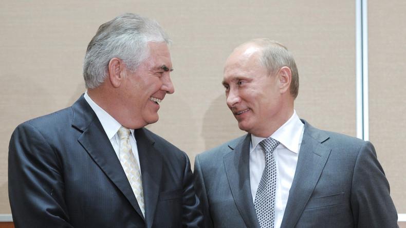 Chef von ExxonMobil zum neuen US-Außenminister ernannt