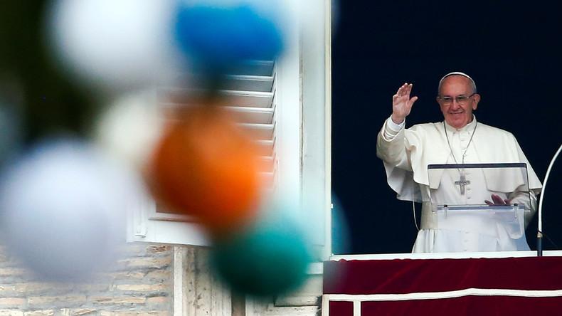 """Papst Franziskus: """"Syrien muss Modell für Koexistenz von Kulturen und Religionen bleiben"""""""