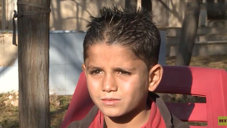 """Exklusiv: """"Sie schlachteten meine ganze Familie ab"""" – Ergreifende Berichte der Waisenkinder Aleppos"""