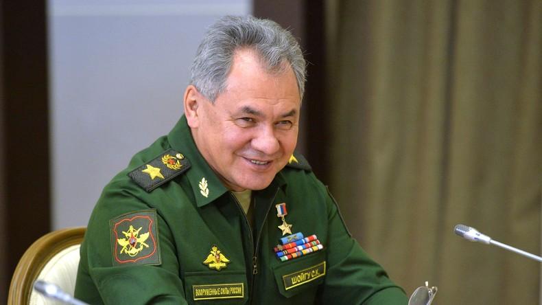 Der russische Verteidigungsminister Sergei Schoigu