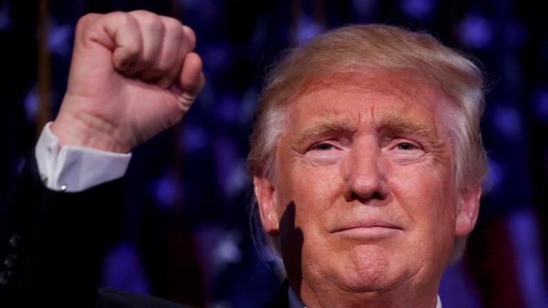"""Financial Times ernennt Donald Trump zur """"Person des Jahres"""""""