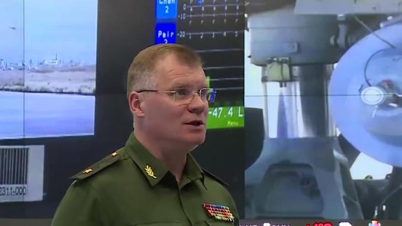 """Russlands Verteidigungsministerium: """"Russische Bombardements"""" von Terroristen inszeniert und gedreht"""