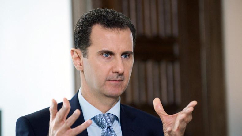 Bashar al-Assad: Westen bat Russland, Angriffe der syrischen Armee auf Terroristen zu stoppen