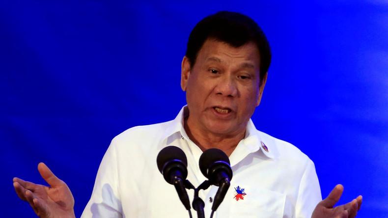 """Rodrigo Duterte: """"Ich habe mutmaßliche Drogenhändler selbst ermordet"""""""