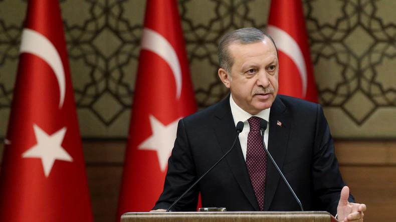 Erdogan ruft die Türkei zur nationalen Mobilmachung im Kampf gegen Terrorismus auf