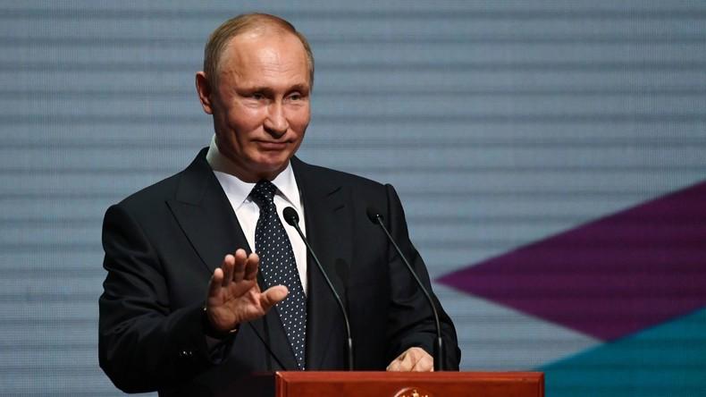 Wladimir Putin seit vier Jahren der einflussreichste Mensch der Welt - Forbes-Ranking