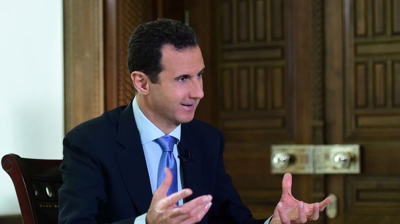 Exklusiv: RT-Gesamtinterview mit Präsident Assad nach Befreiung von Aleppo