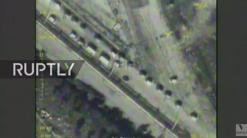 Livestreams aus Aleppo vom Abzug der Extremisten