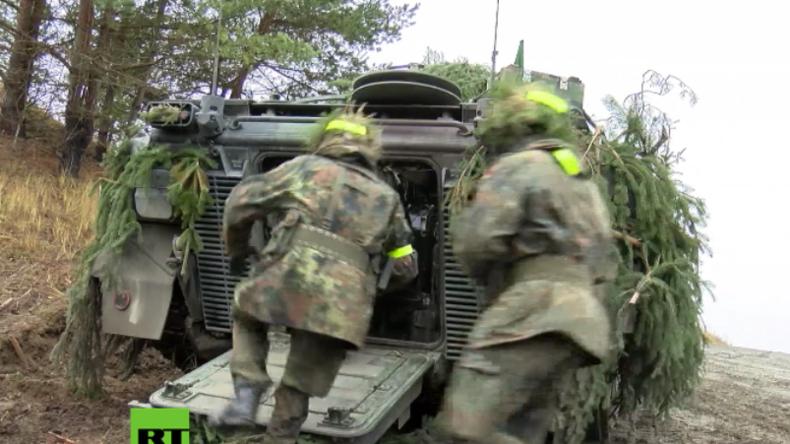 Grafenwöhr: Deutsche Panzergrenadiere bereiten sich auf NATO-Großverlegung nach Litauen vor
