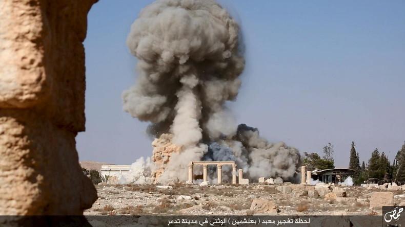Militärexperte: IS erhielt für Offensive gegen Palmyra Aufklärungsdaten vom US-Geheimdienst