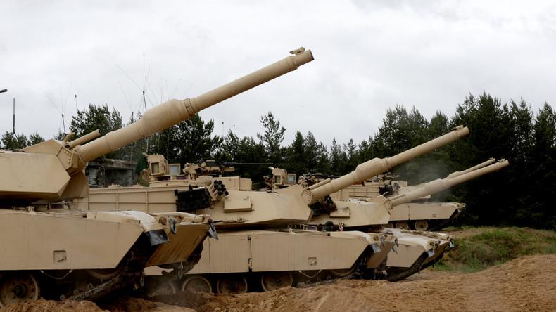 """""""Signal gegen Moskau"""" - USA verlegen 2.000 Panzer und die 10. Luftwaffenbrigade nach Deutschland"""