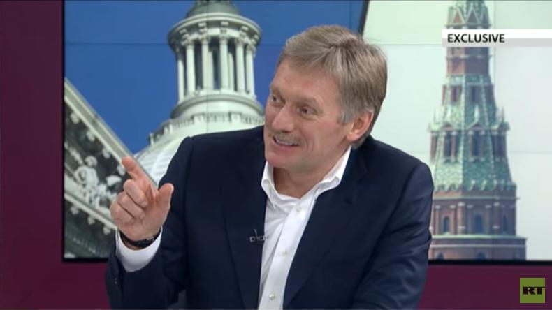 """Exklusiv-Interview mit Dmitri Peskow: """"Berichte über Völkermord in Aleppo sind Unsinn"""""""