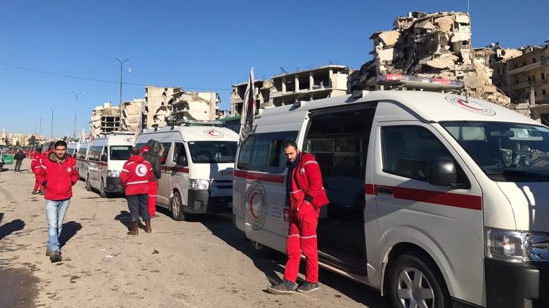 Evakuierung aus Aleppo wegen Beschusses durch Terroristen aufgehalten
