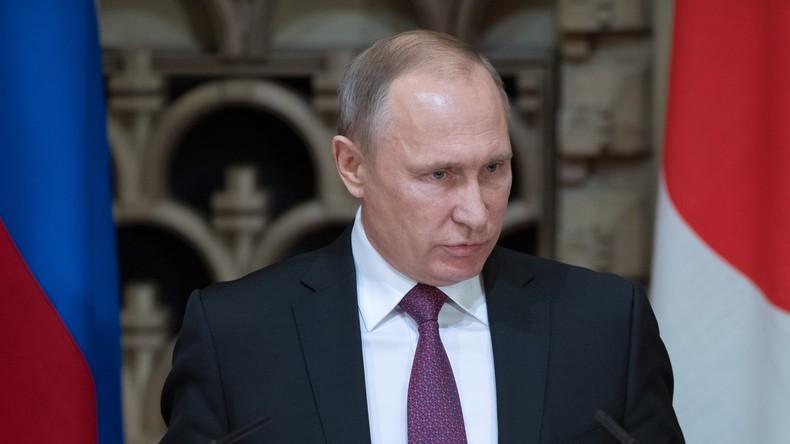 Putin erklärt, warum der IS Palmyra wieder angegriffen hat