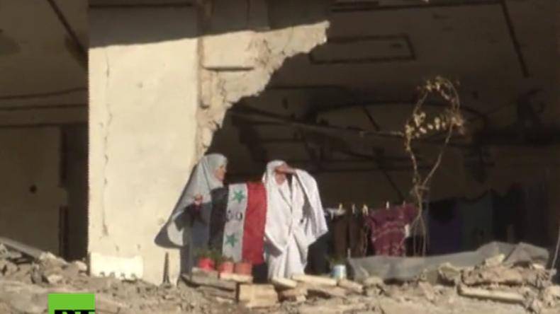 Aleppo: Freude liegt in der Luft – Menschen feiern den Abzug der letzten Extremisten