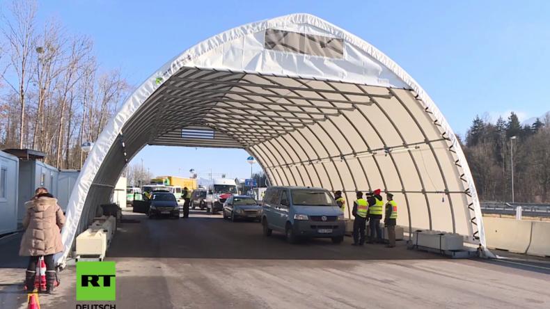 Wegen Terroristen und Schleusern: Durchgehende Kontrollen an Grenze zu Österreich