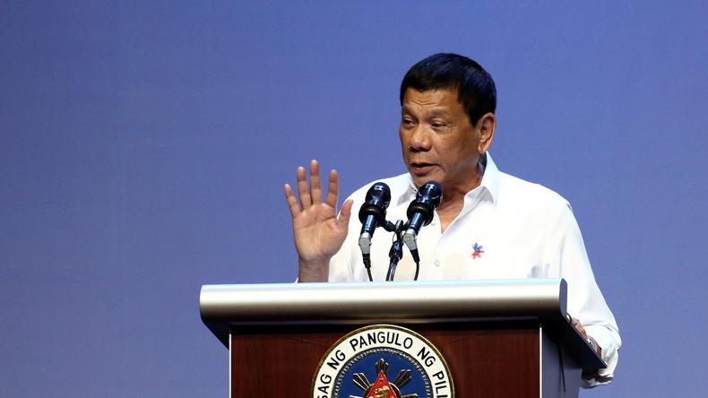 Präsident der Philippinen gesteht Mord an drei Menschen