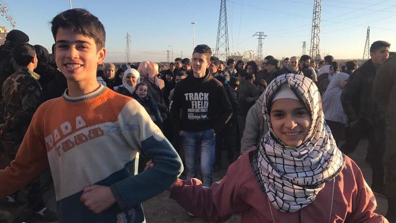 Russlands Generalstab: Aleppo-Einwohner kehren nach Befreiung der Stadt nach Hause zurück