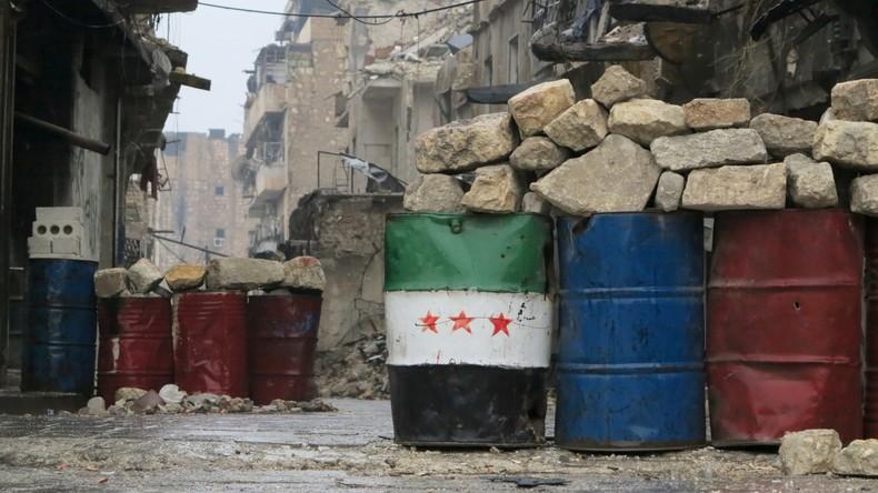 """Russischer Generalstab: """"Moderate Opposition"""" von Terroristen in Aleppo komplett abgetrennt"""