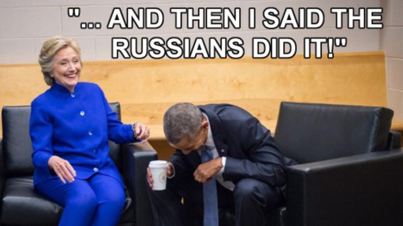 #Russiadidit: Internetnutzer trollen US-Amerikaner