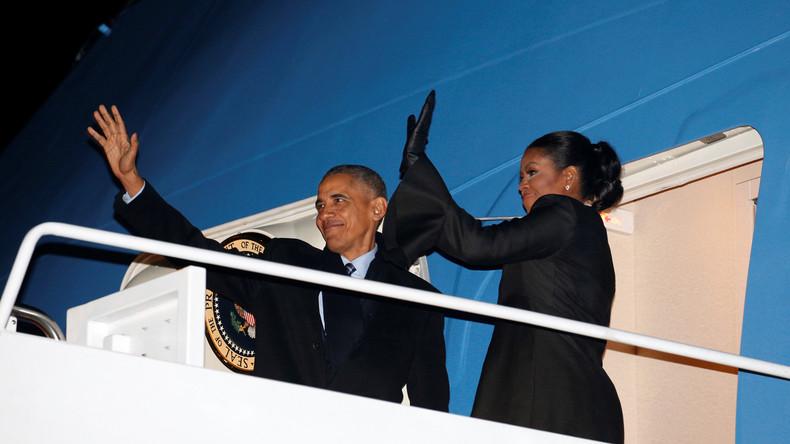 Endlich Urlaub: Barack Obama verreist mit Kind und Kegel nach Hawaii