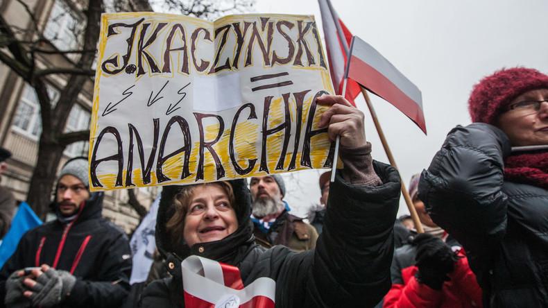 Parlamentskrise in Polen löst massenhafte Proteste aus