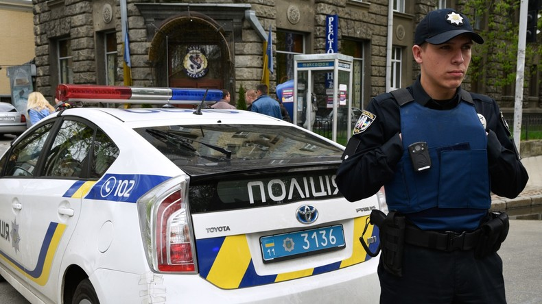 Radikale stürmen RIA-Novosti-Büro in Kiew