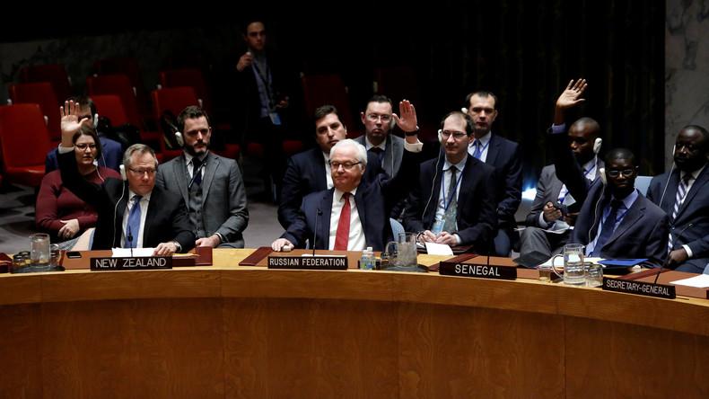 UN-Sicherheitsrat verabschiedet einstimmig Resolution zu Aleppo