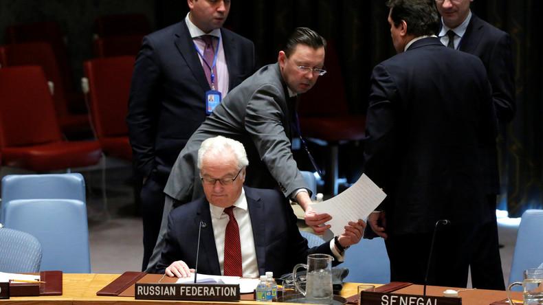 UN-Botschafter Russlands: Französischer Aleppo-Resolutionsentwurf wurde grundsätzlich geändert