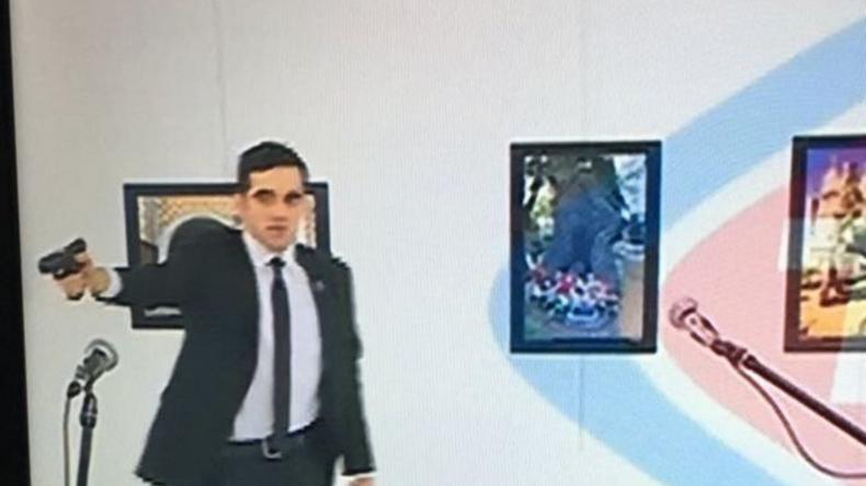 Videoaufnahme zeigt tödliches Attentat auf russischen Botschafter in Ankara