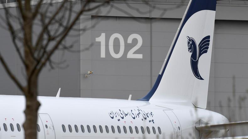 Verlängerung der Sanktionen gegen den Iran: Airbus versucht trotzdem seine Maschinen zu verkaufen