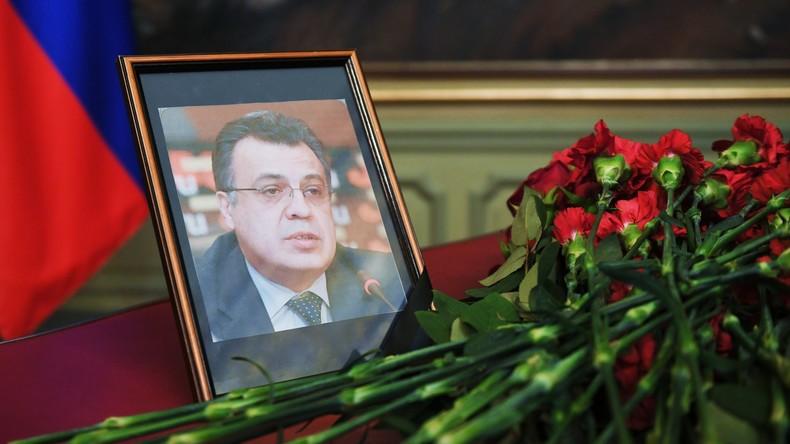 """Russischer Senator: """"NATO-Geheimdienste führten Attentat auf russischen Botschafter in Ankara aus"""""""