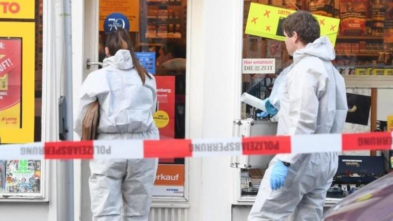 Bewaffneter Überfall in Wiesbaden - Zeitungskiosk beschossen, Besitzerin tot